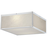 Crate LED 14 inch Brushed Nickel Flush Mount Ceiling Light