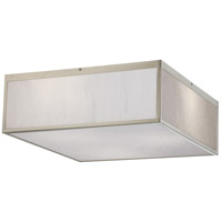 Crate LED 17 inch Brushed Nickel Flush Mount Ceiling Light