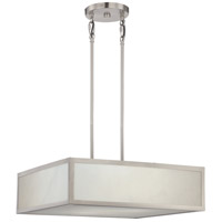 Nuvo 62/893 Crate LED 20 inch Brushed Nickel Pendant Ceiling Light