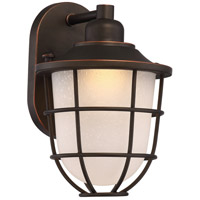 Bungalow LED 11 inch Mahogany Bronze Outdoor Wall Light