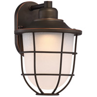 Bungalow LED 13 inch Mahogany Bronze Outdoor Wall Light