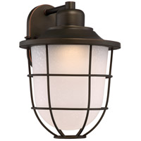 Nuvo 62/943 Bungalow LED 16 inch Mahogany Bronze Outdoor Wall Light