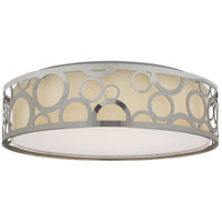 Nuvo 62/988R1 Brentwood LED 15 inch Polished Nickel Flush Mount Ceiling Light