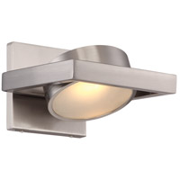 Nuvo 62/994 Hawk 1 Light 7 inch Brushed Nickel Wall Sconce Wall Light