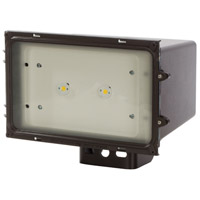 Signature 120V 43.00 watt Bronze Outdoor Flood Light