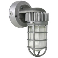 Nuvo 65/078 Signature 1 Light 6 inch Silver Outdoor Flush Mount