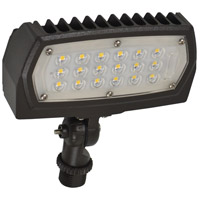 Nuvo 65/124 Signature 100-277V 15 watt Bronze Outdoor Flood Light