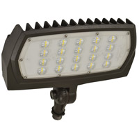 Nuvo 65/128 Signature 100-277V 30 watt Bronze Outdoor Flood Light