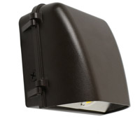 Nuvo 65/133 Brentwood LED 8 inch Bronze Outdoor Wallpack Small