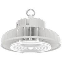 Nuvo 65/192 Brentwood 9 inch White Hi-Bay Ceiling Light