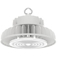 Nuvo 65/195 Brentwood 9 inch White Hi-Bay Ceiling Light