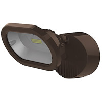 Signature LED 5 inch Bronze Security Light