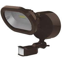 Nuvo 65/202 Signature LED 9 inch Bronze Security Light with Motion Sensor