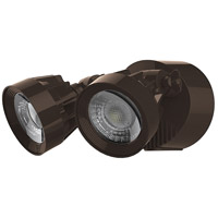 Signature LED 4 inch Bronze Security Light