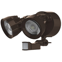 Signature LED 7 inch Bronze Security Light