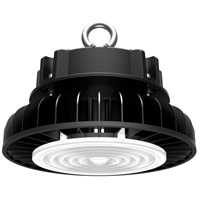 Nuvo 65/526 Brentwood 9 inch Black Hi-Bay Ceiling Light