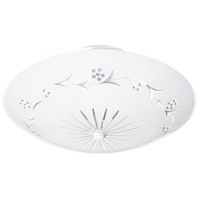 Nuvo Lighting Signature 2 Light Semi Flush Mount in White 76/268