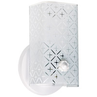 Nuvo Lighting Signature 1 Light Bath Light in White SF76/273