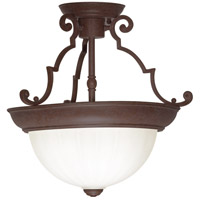 Nuvo Lighting Signature 2 Light Semi Flush Mount in Old Bronze 76/436