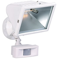 Nuvo Lighting Motion Sensor 1 Light Outdoor Flood Light with Motion Sensor in Black 76/508