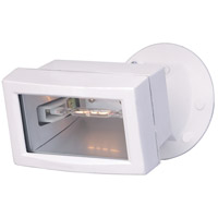 Mini Halogen 150 watt White Outdoor Flood Light