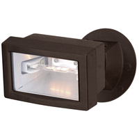 Nuvo Lighting Mini Halogen 1 Light Outdoor Flood Light in Dark Bronze 76/511