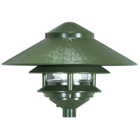 Nuvo Lighting Louver 1 Light Pathway Light in Green 76/634