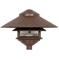 Louver 75 watt Old Bronze Pathway Light