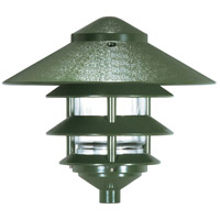 Nuvo Lighting Louver 1 Light Pathway Light in Green 76/636