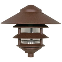 Louver 100 watt Old Bronze Pathway Light