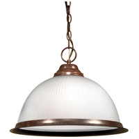 Nuvo SF76/690 Signature 1 Light 15 inch Old Bronze Pendant Ceiling Light