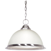 Nuvo Lighting Signature 1 Light Pendant in Brushed Nickel 76/691