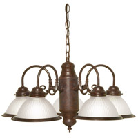 Nuvo Lighting Signature 5 Light Chandelier in Old Bronze 76/694