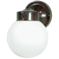 Nuvo Lighting Signature 1 Light Outdoor Wall Light in Old Bronze 76/703