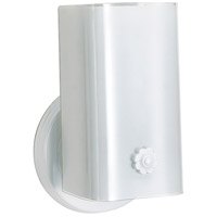 Nuvo SF77/086 Signature 1 Light 5 inch White Bath Light Wall Light photo thumbnail