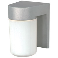 Nuvo Lighting Signature 1 Light Outdoor Wall Mount in Satin Aluminum 77/136