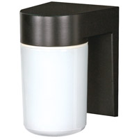 Nuvo Lighting Signature 1 Light Outdoor Wall Mount in Black 77/137
