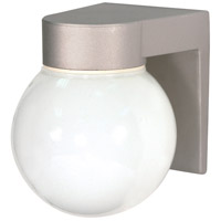 Nuvo Lighting Signature 1 Light Outdoor Wall Mount in Satin Aluminum 77/139