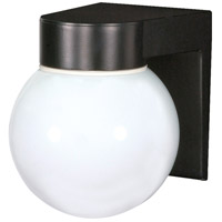 Nuvo Lighting Signature 1 Light Outdoor Wall Mount in Black 77/140