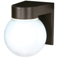 Nuvo Lighting Signature 1 Light Outdoor Wall Mount in Bronzotic 77/141