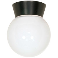 Nuvo Lighting Signature 1 Light Outdoor Ceiling Mount in Bronzotic 77/153