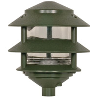 Nuvo Lighting Tier Garden 1 Light Pathway Light in Green 77/323