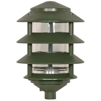 Nuvo Lighting Tier Garden 1 Light Pathway Light in Green 77/324
