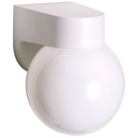 Signature 1 Light 8 inch White Outdoor Wall Light