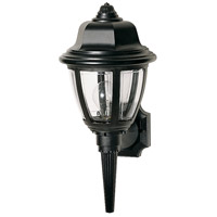 Nuvo Lighting Signature 1 Light Outdoor Wall Lantern in Black 77/804