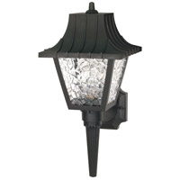 Nuvo Lighting Signature 1 Light Outdoor Wall Lantern in Black 77/852