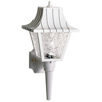 Nuvo SF77/853 Signature 1 Light 18 inch White Outdoor Wall Lantern