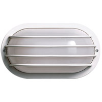 Nuvo SF77/895 Signature 1 Light 11 inch White Outdoor Wall Light