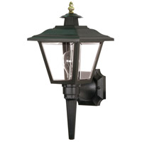 Nuvo Lighting Signature 1 Light Outdoor Wall Lantern in Black 77/896