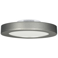 Blink LED 3 inch Satin Nickel Flush Mount Ceiling Light, Satco